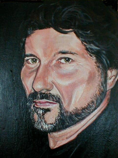 Robert - udsnit af portræt