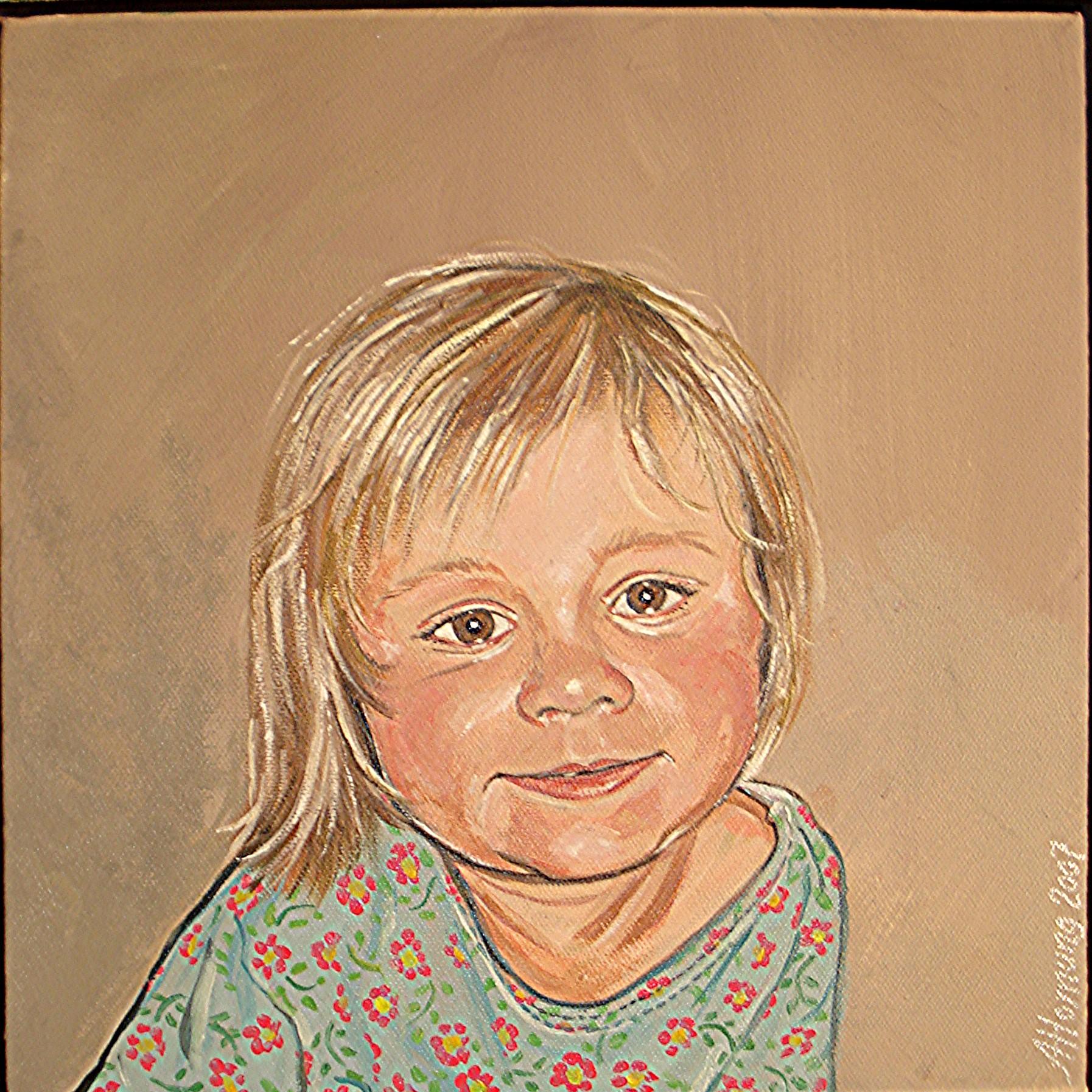 Portræt af Sigurds børn 4