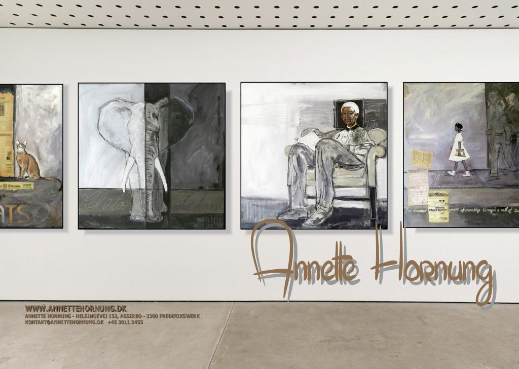 Annette Hornung udstilling